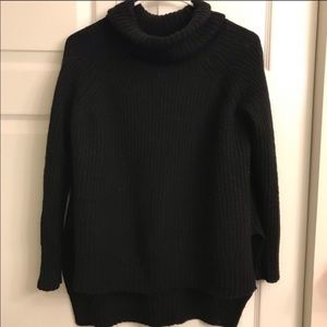 Express High Low Turtle Neck
